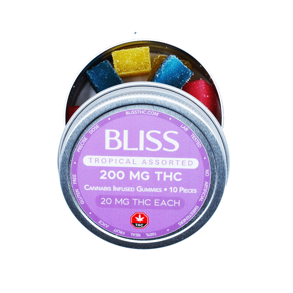 Bliss - Tropical Assorted Gummies - 150mg