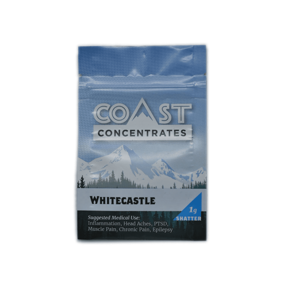 Coast Concentrates Shatter | Whitecastle 1g