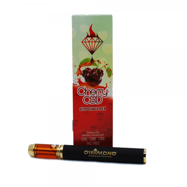 Diamond Concentrates Vape Pen | Cherry CBD Disposable Pen