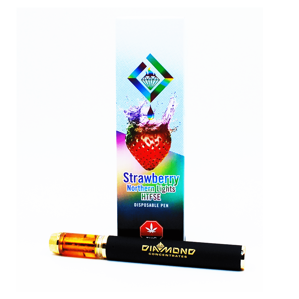 Diamond Concentrates Vape Pen | Strawberry Northern Lights - HTFSE