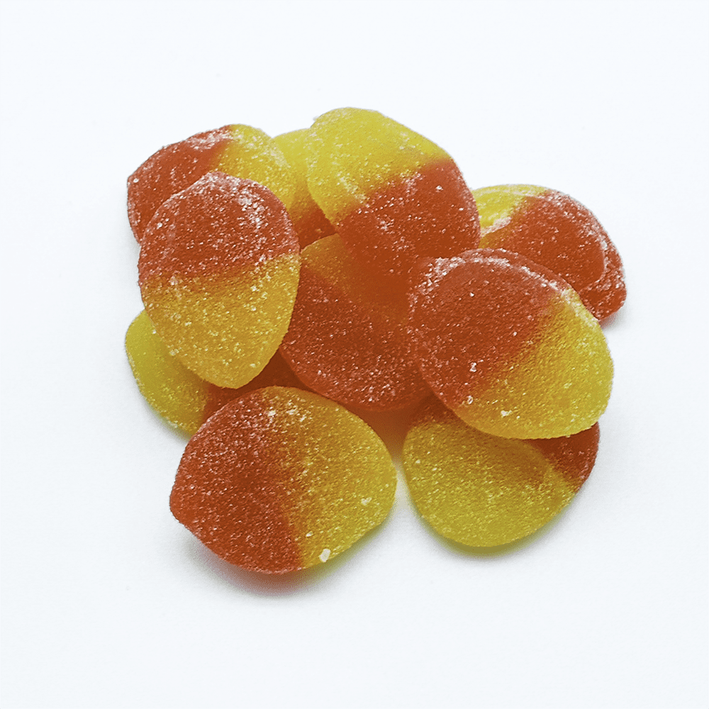 Forbidden Fruit Peach Gummies - 10*30mg THC
