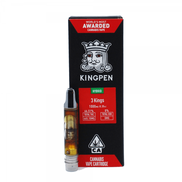 KingPen Vape Cartridge | Hybrid - 3 Kings 1g