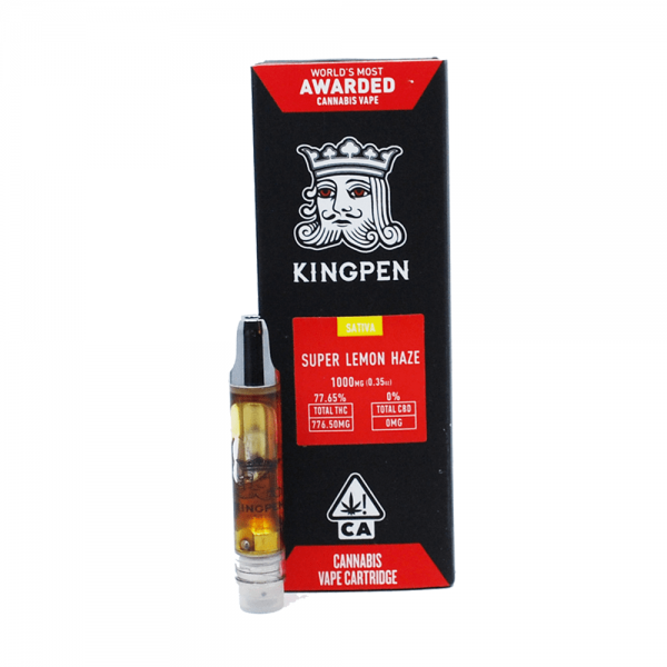 KingPen Vape Cartridge | Sativa - Super Lemon Haze 1g