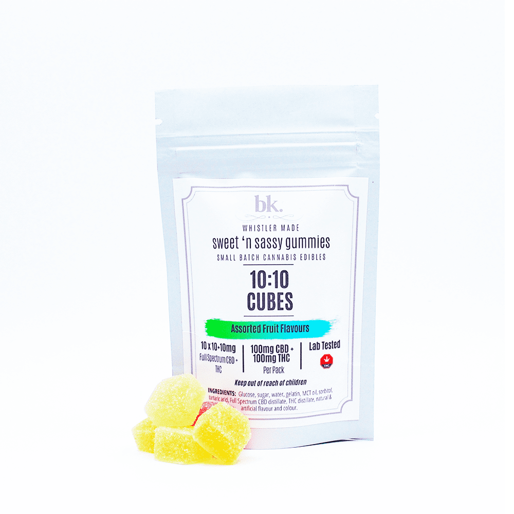 bk. - CBD:THC Fruit Gummies - 10:10/CBD:THC 200mg