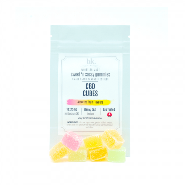 bk. - Full Spectrum CBD Fruit Gummies - CBD 150mg