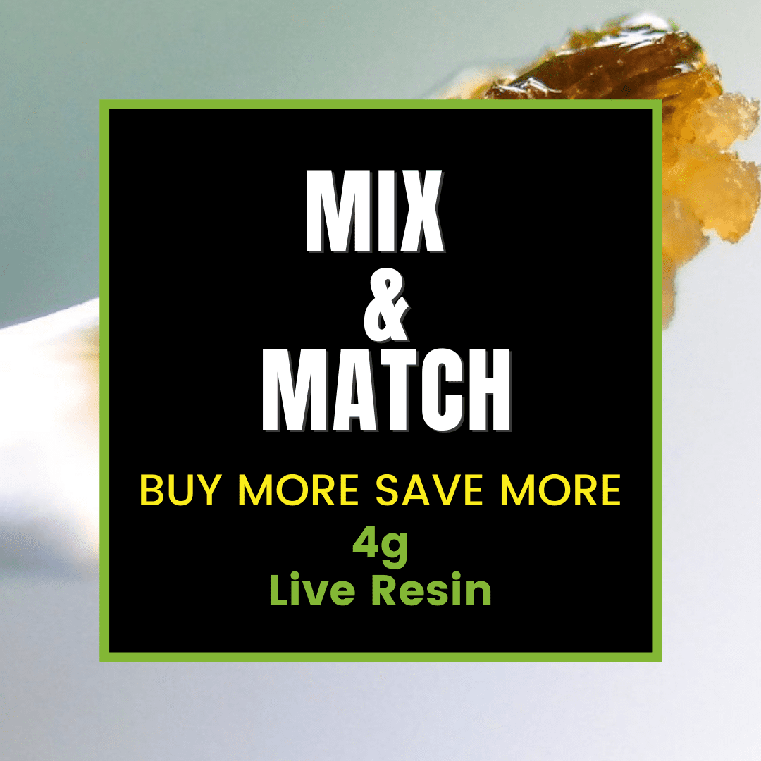 Mix and Match 4g THC Live Resin